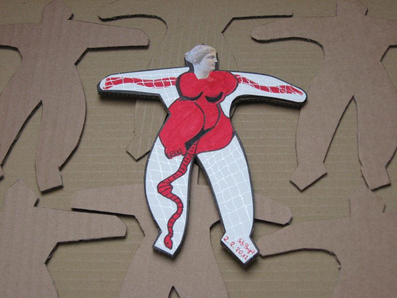 Spurensuche Weiblich - Einzelne Frau