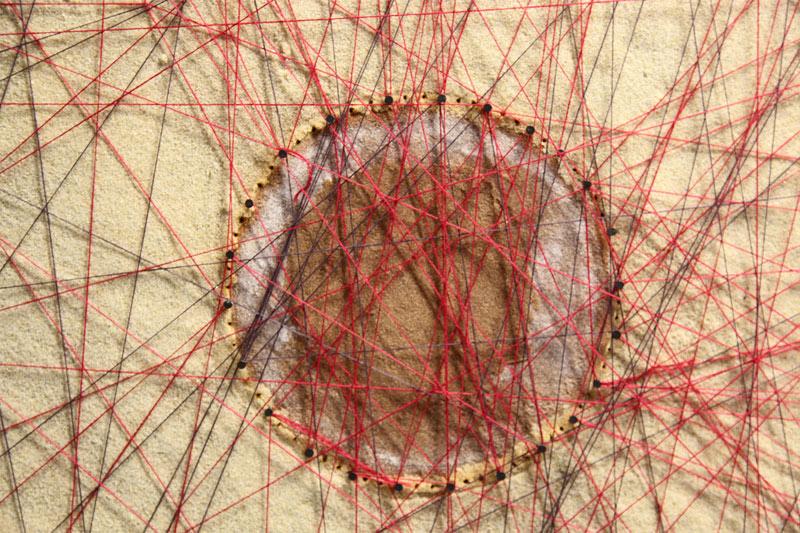 frauen-netzwerk-kunst | Detail gefüllter Kreis