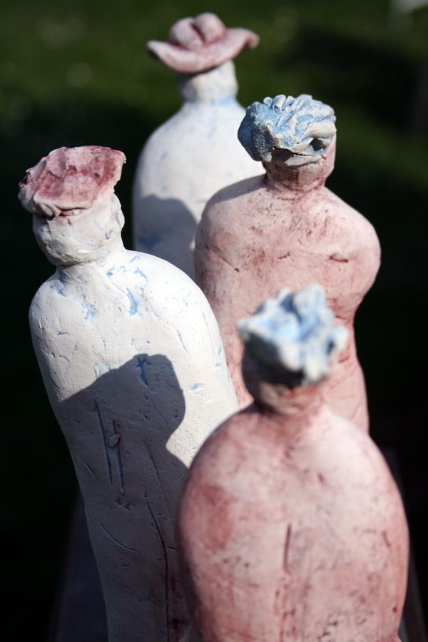 Paare - Skulpturen - Brigitte Schwarz