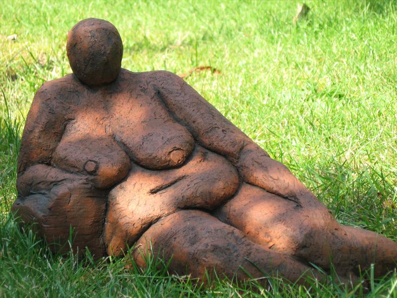 Platz nehmen - Skulptur - Brigitte Schwarz